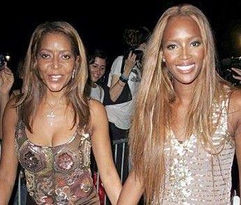 Naomi Campbell ve kardeşi